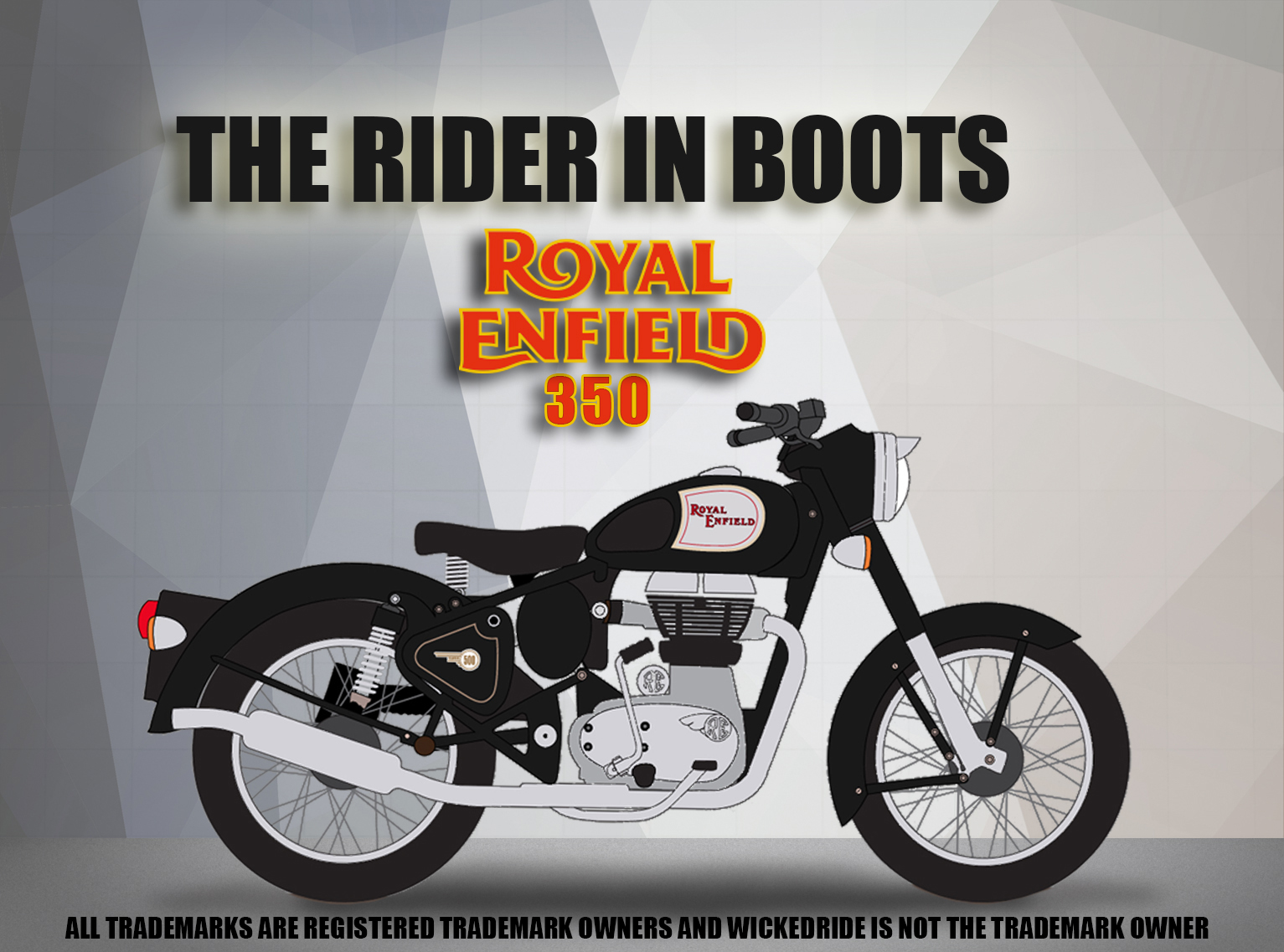The Rider in Boots - 350cc